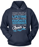 Favorite Swimmer - Mine Calls Me Opa