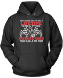 Favorite Motocross Rider - Mine Calls Me Mom Pullover Hoodie Sweatshirt T-Shirt