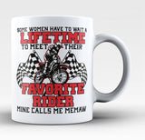 Favorite Motocross Rider - Mine Calls Me Memaw - Coffee Mug / Tea Cup