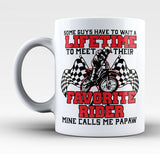 Favorite Motocross Rider - Mine Calls Me Papaw - Mug