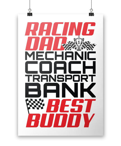 Jobs of a Racing Dad - Poster