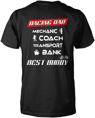 Jobs of a Racing Dad T-Shirt
