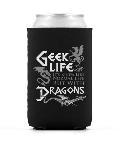 Geek Life With Dragons - Can Cooler