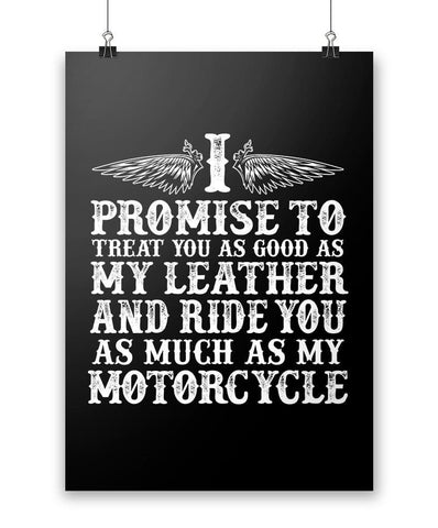 The Motorcycle Vow - Poster