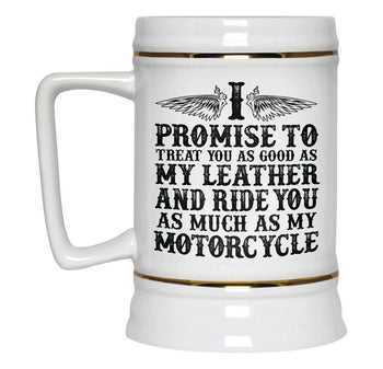 The Motorcycle Vow - Beer Stein - [variant_title]