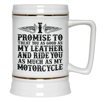The Motorcycle Vow - Beer Stein