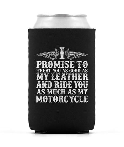 The Motorcycle Vow - Can Cooler