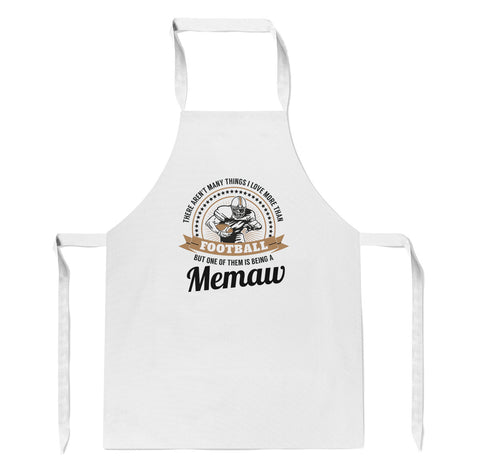 This Memaw Loves Football - Apron