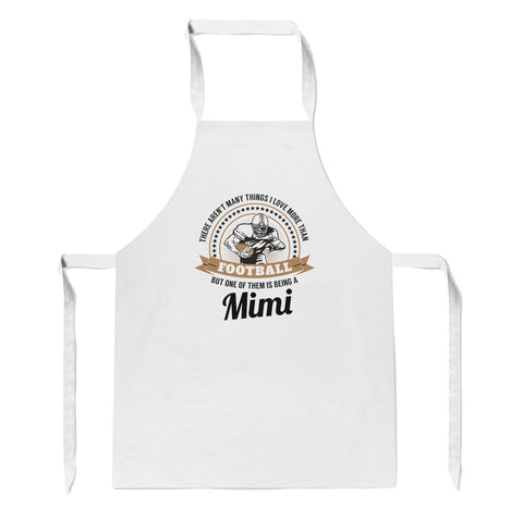 This Mimi Loves Football - Apron