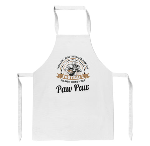 This Paw Paw Loves Football - Apron