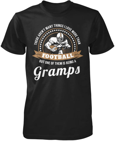 This Gramps Loves Football Long Sleeve T-Shirt