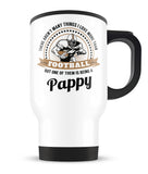This Pappy Loves Football - Travel Mug