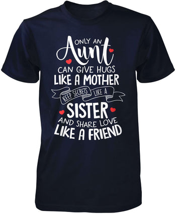 Only An Aunt Can - Premium T-Shirt / Navy / S