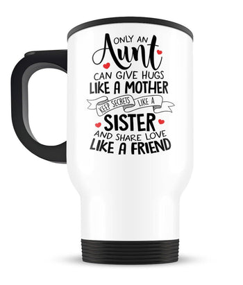 Only An Aunt Can - Travel Mug - [variant_title]