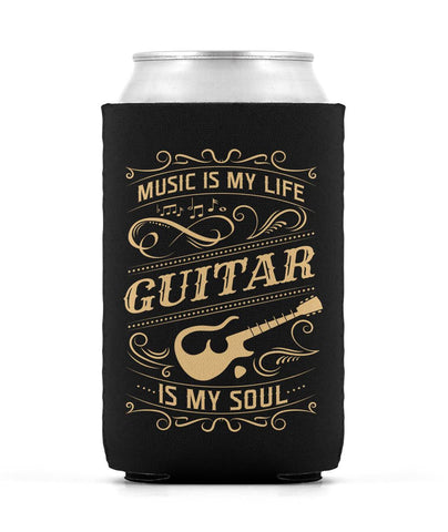 Music Is My Life Guitar Is My Soul - Can Cooler
