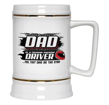 (Nickname) of an Awesome Driver - Beer Stein - Beer Steins