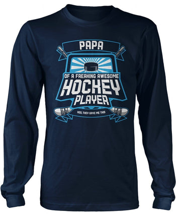 (Nickname) of An Awesome Hockey Player - T-Shirt - T-Shirts