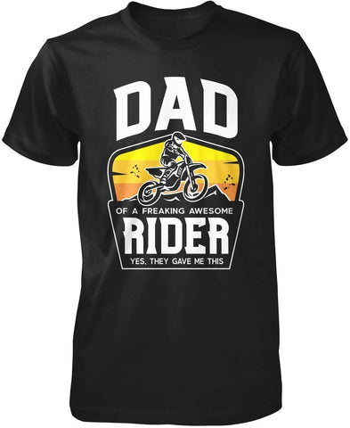(Nickname) of an Awesome Motocross Rider - T-Shirt - T-Shirts