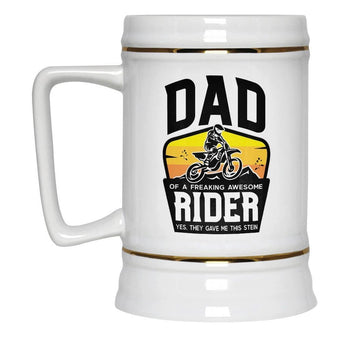 (Nickname) of an Awesome Motocross Rider - Beer Stein - Beer Steins