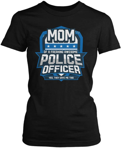 (Nickname) of an Awesome Police Officer - T-Shirt - T-Shirts