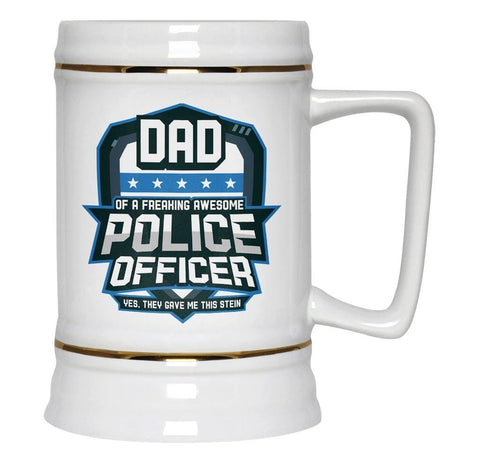 (Nickname) of an Awesome Police Officer - Beer Stein - Beer Steins
