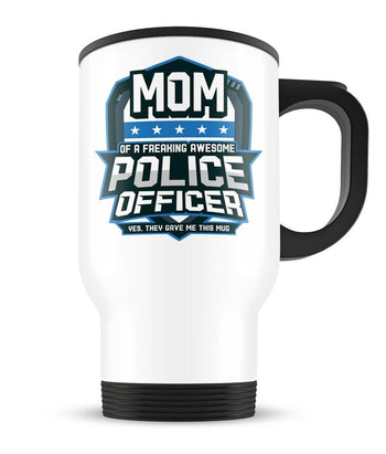 (Nickname) of an Awesome Police Officer - Travel Mug - Travel Mugs
