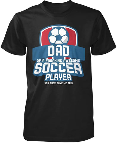 (Nickname) of an Awesome Soccer Player - T-Shirt - T-Shirts