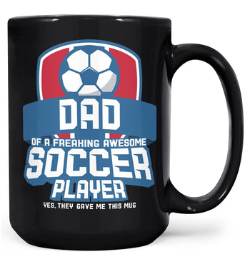 (Nickname) of an Awesome Soccer Player - Mug - Coffee Mugs