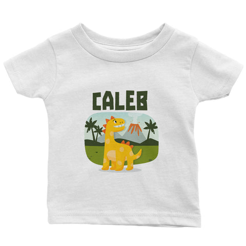 Baby Dinosaur - Personalized Infant & Toddler T-Shirt
