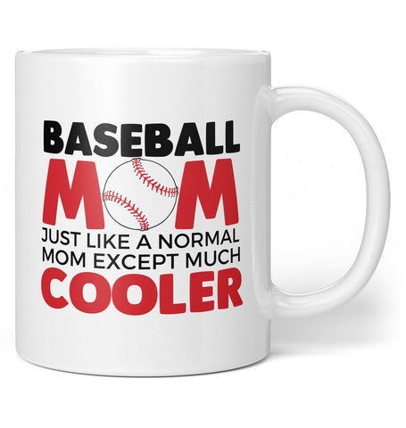 I'm a Baseball Mom Except Much Cooler - Coffee Mug / Tea Cup