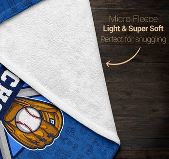 Baseball - Personalized Blanket - Blankets