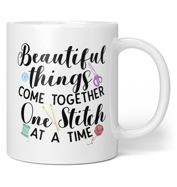 One Stitch At a Time - Coffee Mug / Tea Cup
