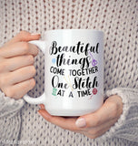 One Stitch At a Time - Mug - [variant_title]