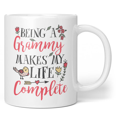 Being a Grammy Makes My Life Complete - Coffee Mug / Tea Cup