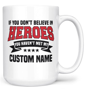 My Hero - Mug - White / Large - 15oz