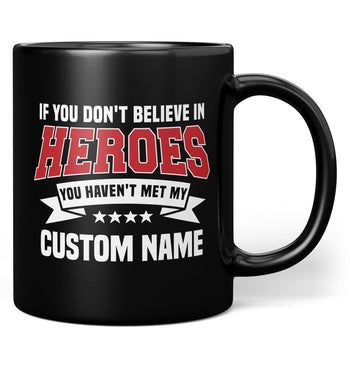 My Hero - Mug - Black / Regular - 11oz