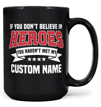 My Hero - Mug - Black / Large - 15oz