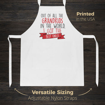 The Best Grandkids In the World - Apron - [variant_title]