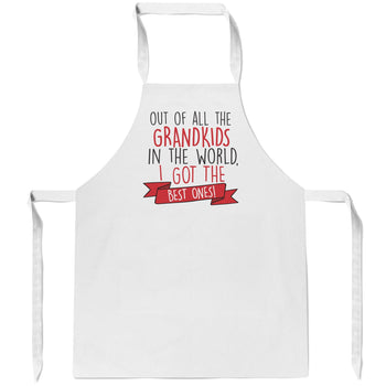 The Best Grandkids In the World - Apron