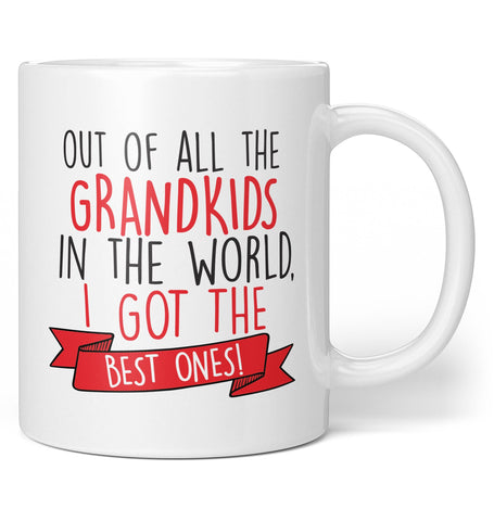 The Best Grandkids In the World - Coffee Mug / Tea Cup