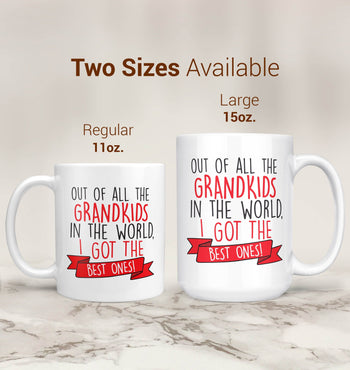 The Best Grandkids In the World - Mug - [variant_title]