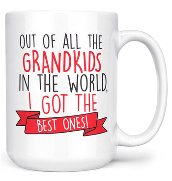 The Best Grandkids In the World - Mug - White / Large - 15oz