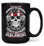 The Bikers Code - Mug - Large - 15oz