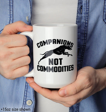Companions Not Commodities - Mug - Coffee Mugs