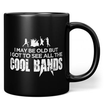 I Got To See All the Cool Bands - Mug - Coffee Mugs