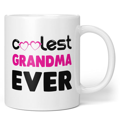 Coolest (Nickname) Ever - Pink - Mug - Coffee Mugs