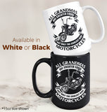 Only The Coolest (Nickname)s Ride Motorcycles - Female - Mug - [variant_title]