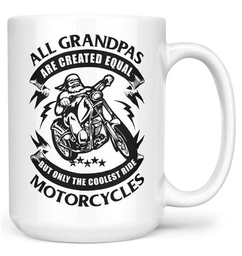 Only the Coolest (Nickname)s Ride Motorcycles - Mug - White / Large - 15oz