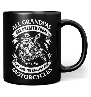 Only the Coolest (Nickname)s Ride Motorcycles - Mug - Black / Regular - 11oz