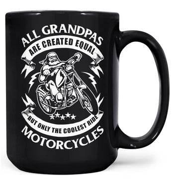 Only the Coolest (Nickname)s Ride Motorcycles - Mug - Black / Large - 15oz